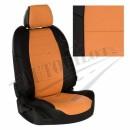черный+оранжевый