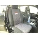 Mitsubishi Pajero, 2 ряда сидений /комплект авточехлов/